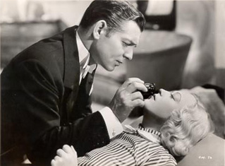 Clark Gable with Marion in CAIN AND MABEL